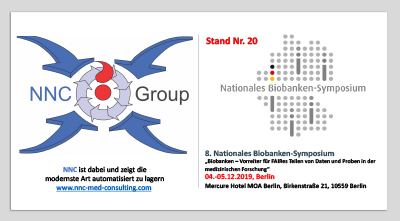 NNC-Group / NNC-LIN - Event - December 2019 - Nationales Biobaken-Symposium